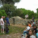 Juin 2010: Les enfants devant leur travail