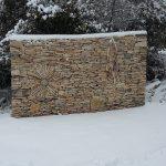 Mur du soleil ou de la neige?