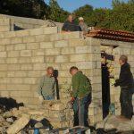 élévation du muret