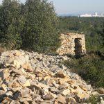 capitelle de l'antenne: point de vue sur Nîmes