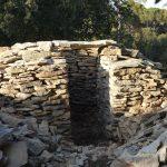 26 février: linteau de la capitelle des Jasses