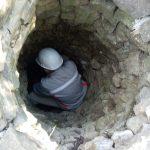 nettoyage du puits de la Font d'Arques